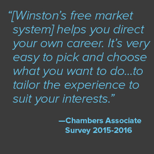 Jobs for Law Students and Graduates at Winston  amp  Strawn LLP Winston   Strawn Each office has its own summer associate program  which varies in terms of activities and hands on training  Regardless of the office  you will have