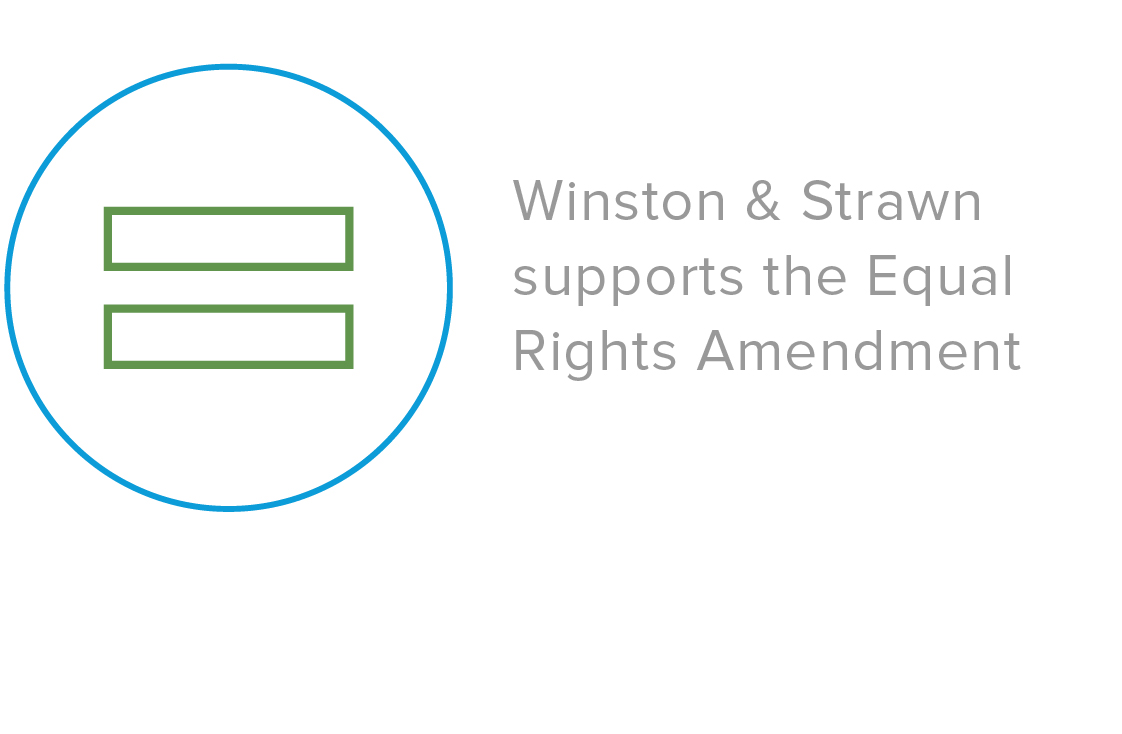 Winston & Strawn Supports the Equal Rights Amendment (ERA)